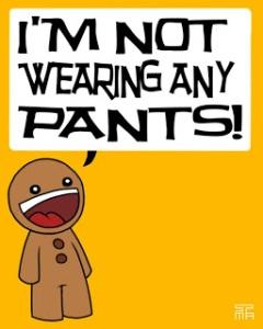 NPM = No Pants Monday