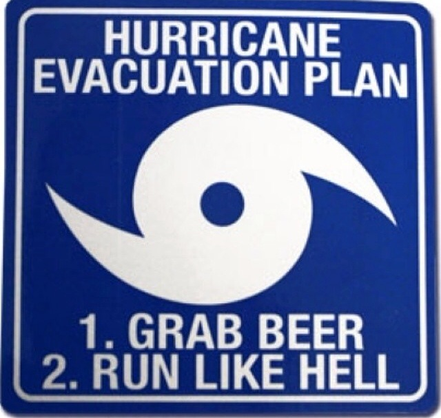 hurricane evacuation plan sign emergency supply list for