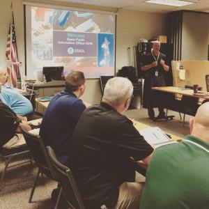 Bob Z kicking off today's Ohio EMA Basic PIO course.