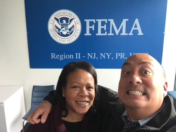 Delia and Kevin at FEMA Region-2